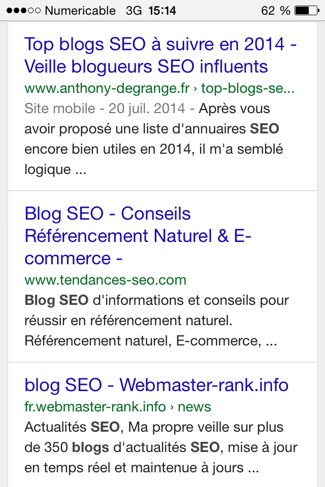 Optimisation title blog seo mobile